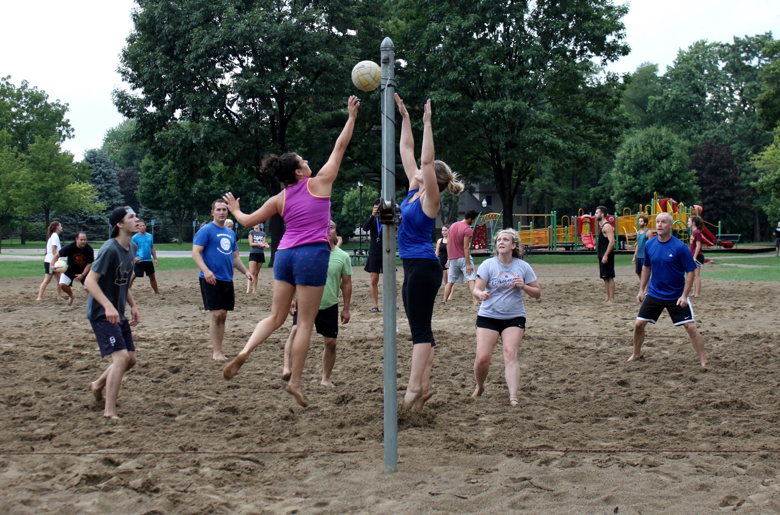 Co-ed Sand Volleyball