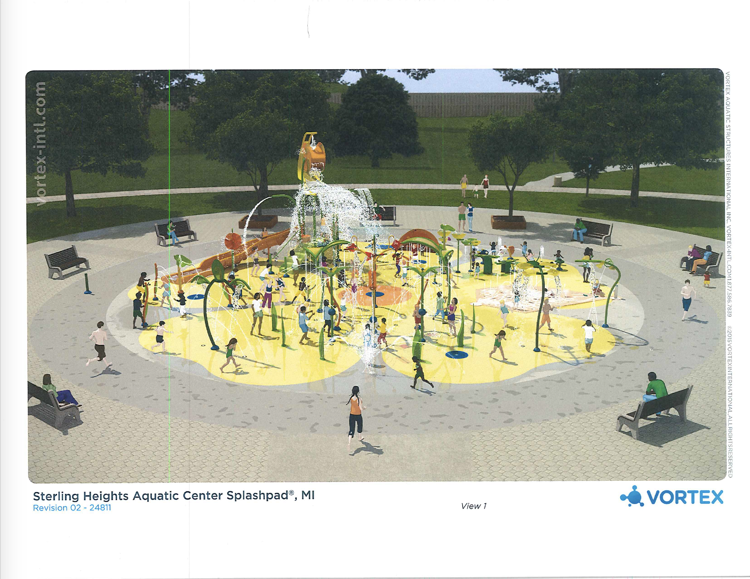 Splash Pad Renderings 1