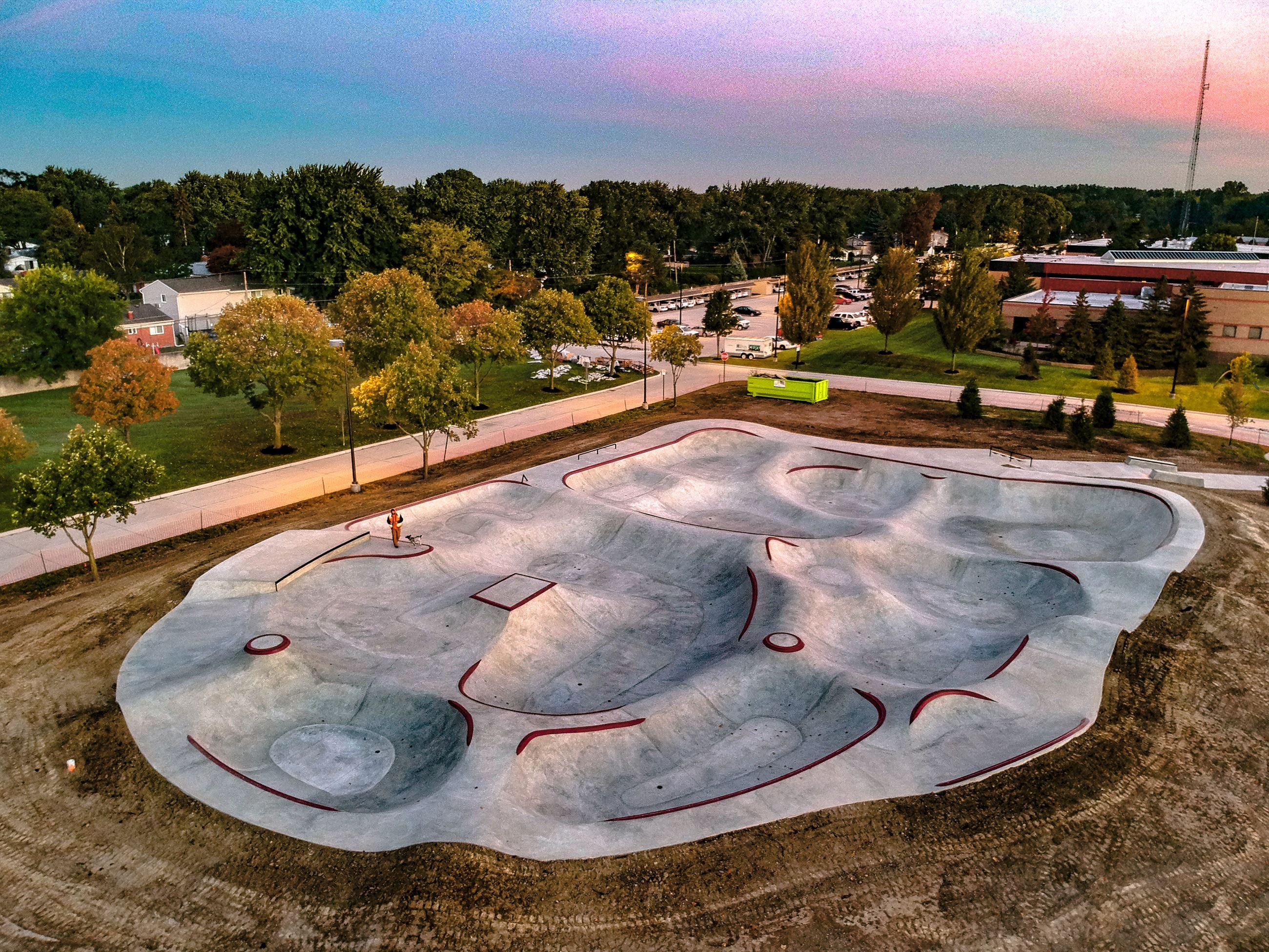 Skate Park | Sterling Heights, MI - Official Website