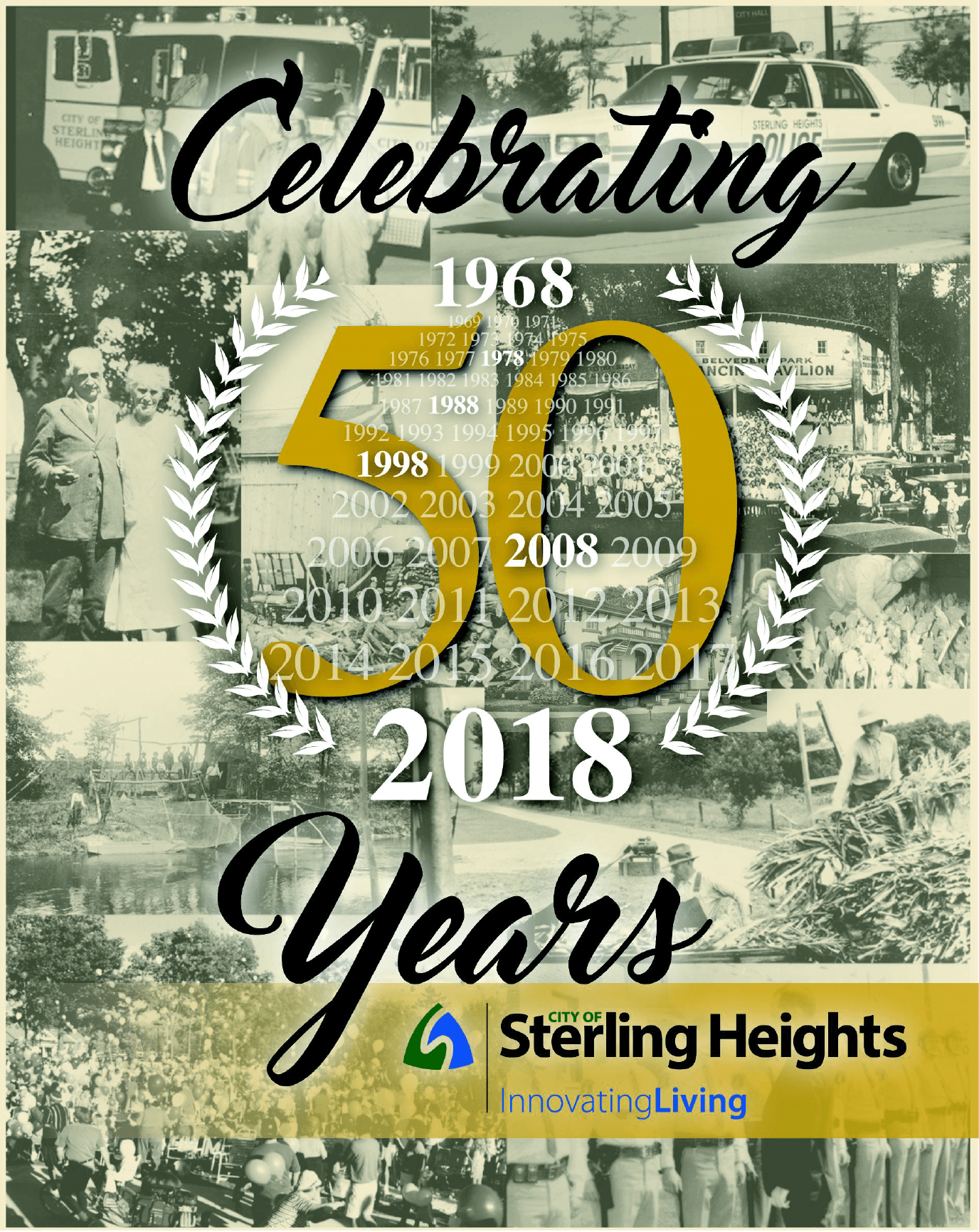 50th Anniversary Booklet Cover