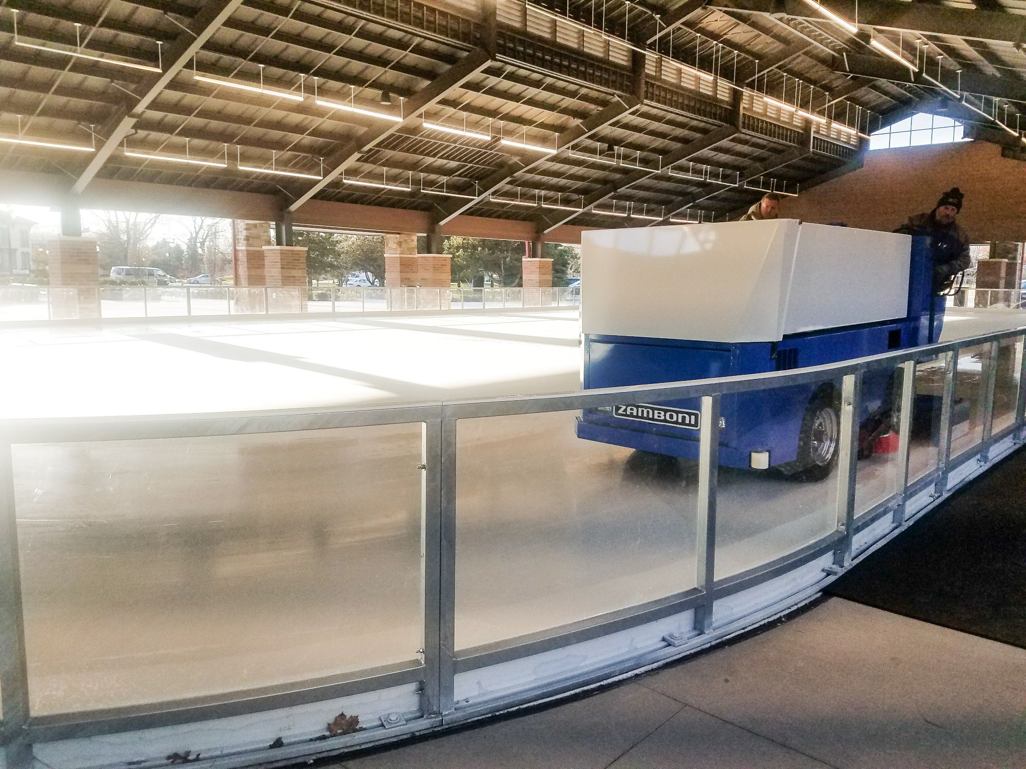Ice Rink with Zamboni