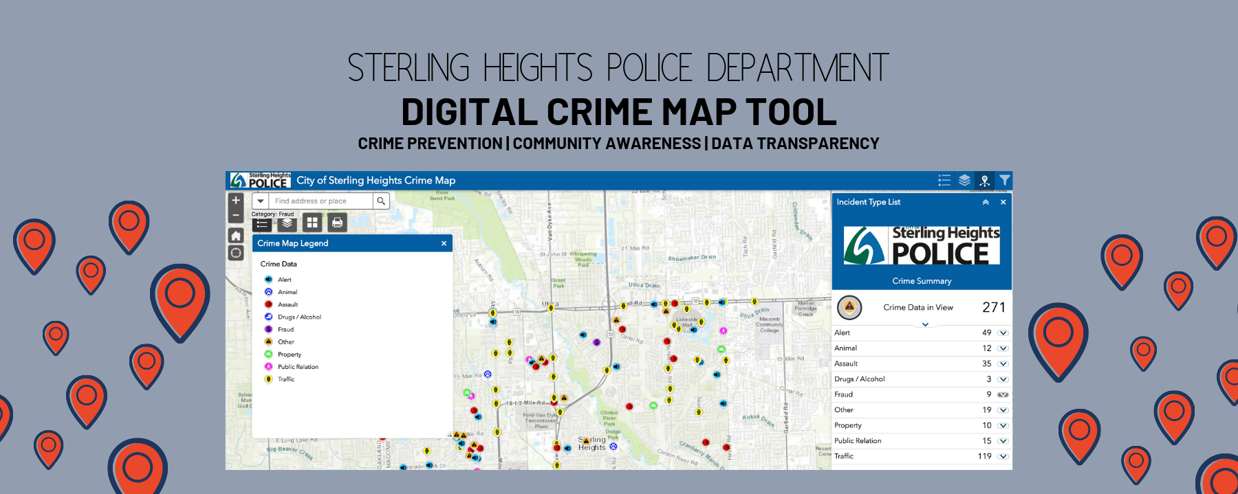 DIGITAL CRIME MAP TOOL