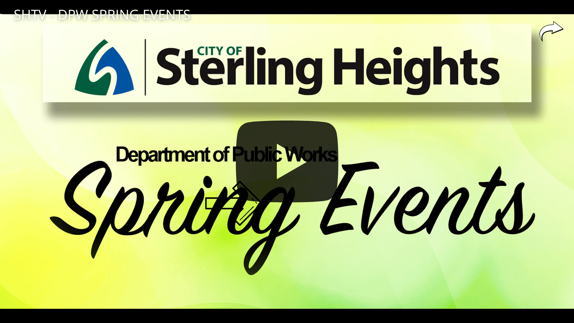 DPW Spring Events